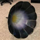 Antique Violet Morning Glory Victrola EDISON Phonograph Horn Hand Painted