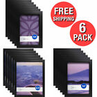 Photo Frame in Set Of 6 Format Lot Wall Art Home Decor Black Picture Frames