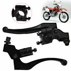 Compatible with Honda 1 Pair L&R Brake Clutch Lever Perch Motorcycle Black