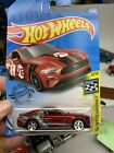 Hot Wheels 2018 Ford Mustang GT Red CUSTOM MADE Cobra Jet Shelby