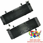Motorcycle Engine Top Cooler Radiator for Honda VFR400R NC30 1989-1992 Aluminium