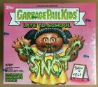 2020 GARBAGE PAIL KIDS LATE TO SCHOOL HOBBY COLLECTOR ED BOX W LUNCH BOX 24PKS