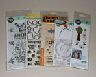 Lot of Dies  Clear Stamps Sizzix Jillibean Soup Recollections Hero Arts