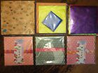 ORIGAMI MADE IN JAPAN CHIYOGAMI FOLDING PAPER CRAFT MULTICOLOR MIXED LOT OF 7