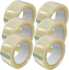 6-12-18-24-36-72 Rolls Clear Packing Packaging Carton Sealing Tape 2x110 Yards