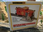 Vintage Bachman Operating Caboose Santa-Fe Item #1428 New In Box, Rare Find!