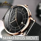 Aesop New Mechanical Watches Men Japan NH35 Movement Luminous Automatic Top