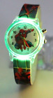 Children Watches Spiderman Colorful Light Source Boys Watch Kids Party Gift