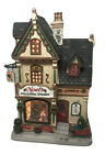 Lemax Porcelain Lighted Building Xmas Village Noel's Christmas Shoppe Shop