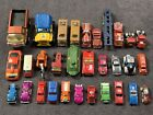 Mixed Lot of 30 Vintage Tonka  Tootsie Toy Cars Trucks Diecast Pressed Steel