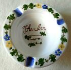 The Ivy Restaurant ashtray dish ceramic tray hand painted pottery collectible
