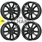 17 Dodge Journey Grand Caravan black wheels rims Factory OEM set 4 2399