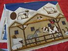 Cranston VIP Nativity fabric panel creche Christmas Cut Stuff Sew