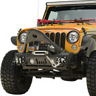 Paramount Stinger Front Bumper with Winch Plate Fit 07 18 Jeep Wrangler JK