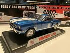 1966 SHELBY Mustang GT350 118 Scale Shelby Collectibles Legend Series Blue w wh