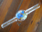 Vintage Clear Blown Glass Cigarette Holder Smoking Tube