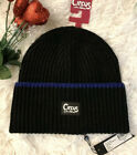 New Woman's  Circus by Sam Edelman Knit Tipping Beanie Hat Skully MSRP $28 Black