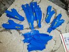 75 PC Tomy Tomica Thomas BLUE TRACK - Switches, 1 to 2 split tracks, curves
