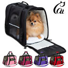 US Small Cat Dog Pet Carrier Soft Sided Comfort Bag Travel Case Airline Approved