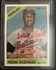 2015 TOPPS HERITAGE REAL ONES FRANK ROBINSON RED INK AUTO 28 66