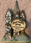 David Winter Cottages Collector's Guild Collectible MINT Flatback Display Piece