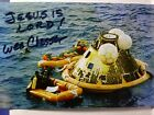 WESLEY CHESSER Authentic Hand Signed 4X6 Photo NAVY SEAL APOLLO 11 RECOVERY