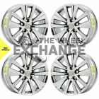 17 Lexus ES300 ES350 PVD Chrome wheels rims Factory OEM 2019 2020 set 74374