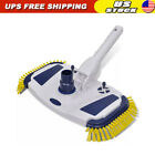 Pool Vacuum Head Cleaner Hose Inground Above Ground Brush Swimming Tool Head
