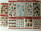 Lot of 10 pks 3D stickers Jolees Boutique Scrapbooking Christmas Holiday
