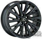 18 Lexus ES300 ES350 Black Chrome wheel rim Factory OEM 2019 2020 74376