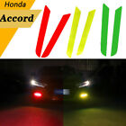 Fog Light Front Overlay Tint Reflective Decal Sticker For Honda Accord 2-color