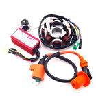 Magneto Stator Ignition Coil 6 Pins Wires AC CDI Box For GY6 125 150cc ATV Scoot