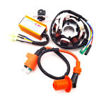 Magneto Stator Racing Ignition Coil 6 Pins Wires AC CDI Box For GY6 125 150cc AT