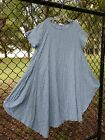 Made In Italy Brand M OTH Balloon Batwing Lagenlook Dress Breezy No Pockets