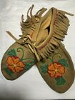 vintage Native American Hand Made moccasins