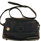 Vintage Authentic Dooney  Bourke All Weather Pebbled Leather Handbag Purse