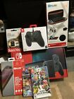 Nintendo Switch with Gray Joy Cons All In One System Bundle 128 GB BRAND NEW
