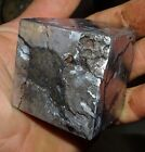 BEAUTIFUL 826 GM ETCHED CAMPO DEL CIELO METEORITE CUBE