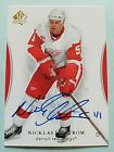 2015-16 Nicklas Lidstrom SP Authentic BuyBack Autograph Hard Signd Auto True 1 1