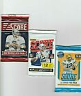 2011, 2016 And 2018 Panini Score 3 Unopened Packs Of Football Cards