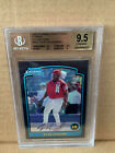 2003 Bowman Chrome Refractor 1st Bowman Ryan Howard Card #BDP138 BGS 9.5 Gem