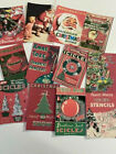 Vintage Style Die Cuts Gift Tags Retro Vintage 16 Piece Christmas Ads Ornaments