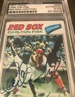 Carlton Fisk Autographed 1977 Topps Graded PSA-DNA Authentic $275