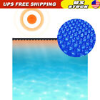 Swimming Pool Floating Solar Cover Water Heating Bubble Covers Round 150 Blue