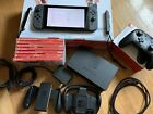 Nintendo Switch 32GB Gray Console with Gray Joy Cons Bundle