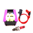 AC CD+Ignition Coil+3 Electrode A7TC Spark Plug For 50 125 150cc ATV GY6 Scooter