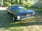 1973 Plymouth Barracuda 1973 Barracuda RUST FREE project car! orig TX9 black orig paint! cuda hemi