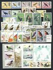 Dynamite Bird on Stamp collection mnh vf sets sheets singles FDC on 5 pages