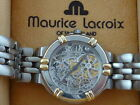 MAURICE LACROIX  SKELETON AUTOMATIC WITH DEPLOYMENT BUCKLE BOX SWISS SUPERB