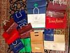 13 Various designer shopping bags from Beverly Hills CA